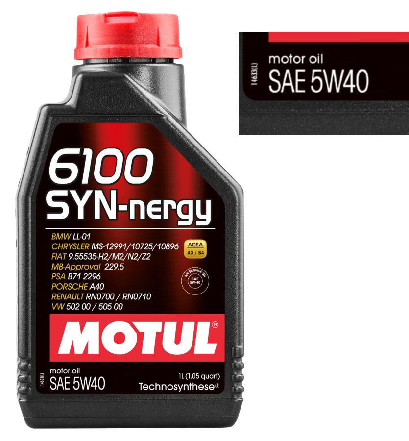 MOTUL 6100 SYN-nergy