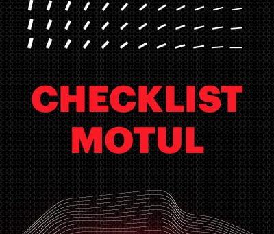 Checklist antes de pegar a estrada