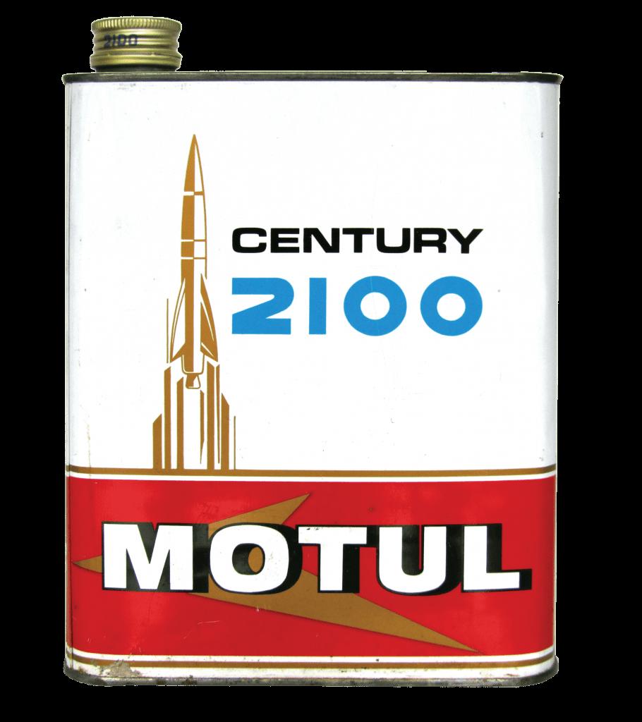 Motul 2100 foi o primeiro lubrificante semi-sintético da história da motul