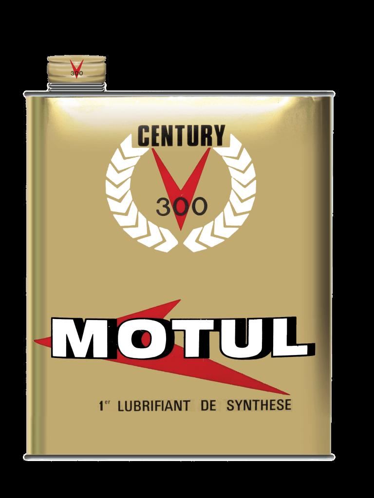 Motul 300V foi o primeiro lubrificante 100% sintético da história da Motul.