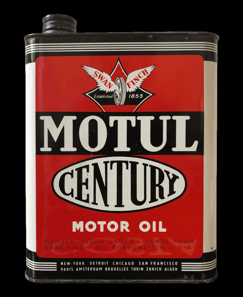 Motul Century foi o primeiro lubrificante multiviscoso da história da Motul.