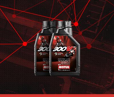 O 300V evolui. O óleo de competição que já era referência nas pistas passou por mudanças e trouxe muitas melhorias.