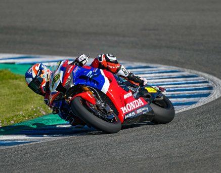 Nova parceria com a Honda no Campeonato Mundial de Superbike