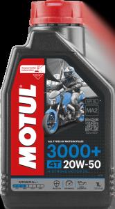 3000+ é um óleo mineral para motos.