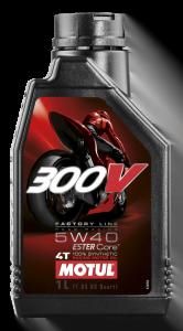 300V é um óleo para motos muito popular
